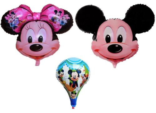 NEW MICKEY /& MINNIE MOUSE MYLAR BALLOON FOR PARTY HELIUM OR AIR