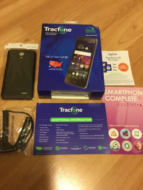 Tracfone ZTE ZMAX One 4g LTE Phone