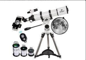 Gskyer Telescope, Telescope for adults, 600x90mm AZ Astronomical Refractor