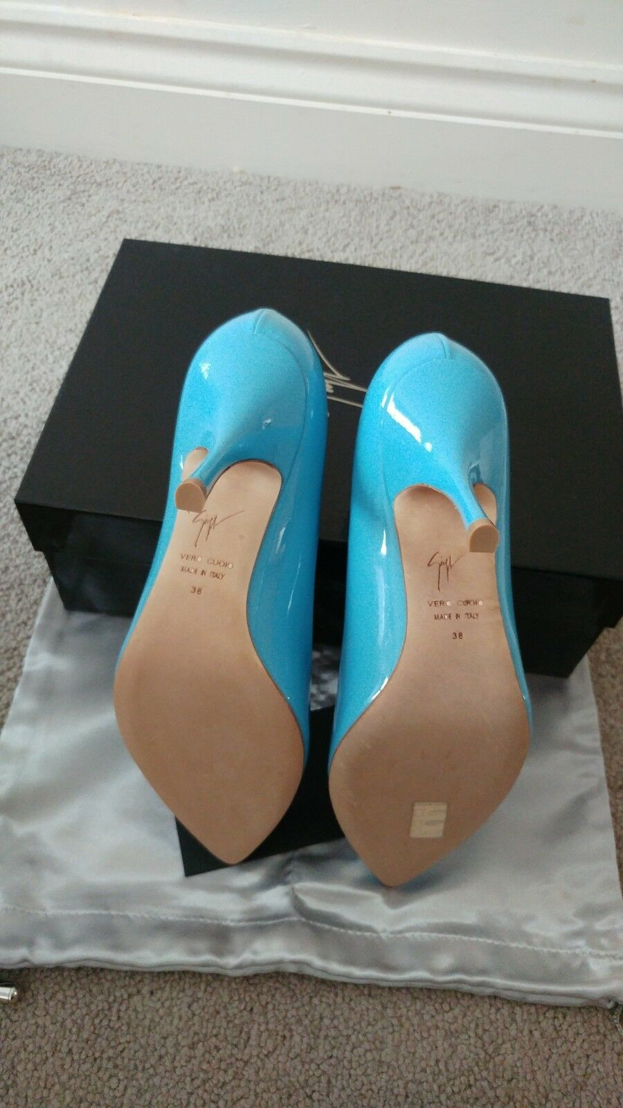 Giuseppe zanotti shoes size 5 genuine