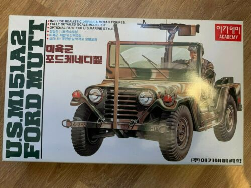 Jeep M151A2 Ford Mutt US Army  1:35 Academy