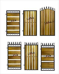 Metal Gate Wrought Iron Gate Gate Metal Garden Side Gate Design Gate Ebay,Business Graphic Facebook Cover Design