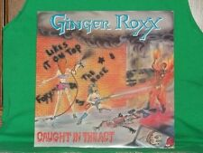 """GINGER ROXX-""""Caught In The Act""""/SEALED ORIGINAL '89 heavy metal private pressing"""