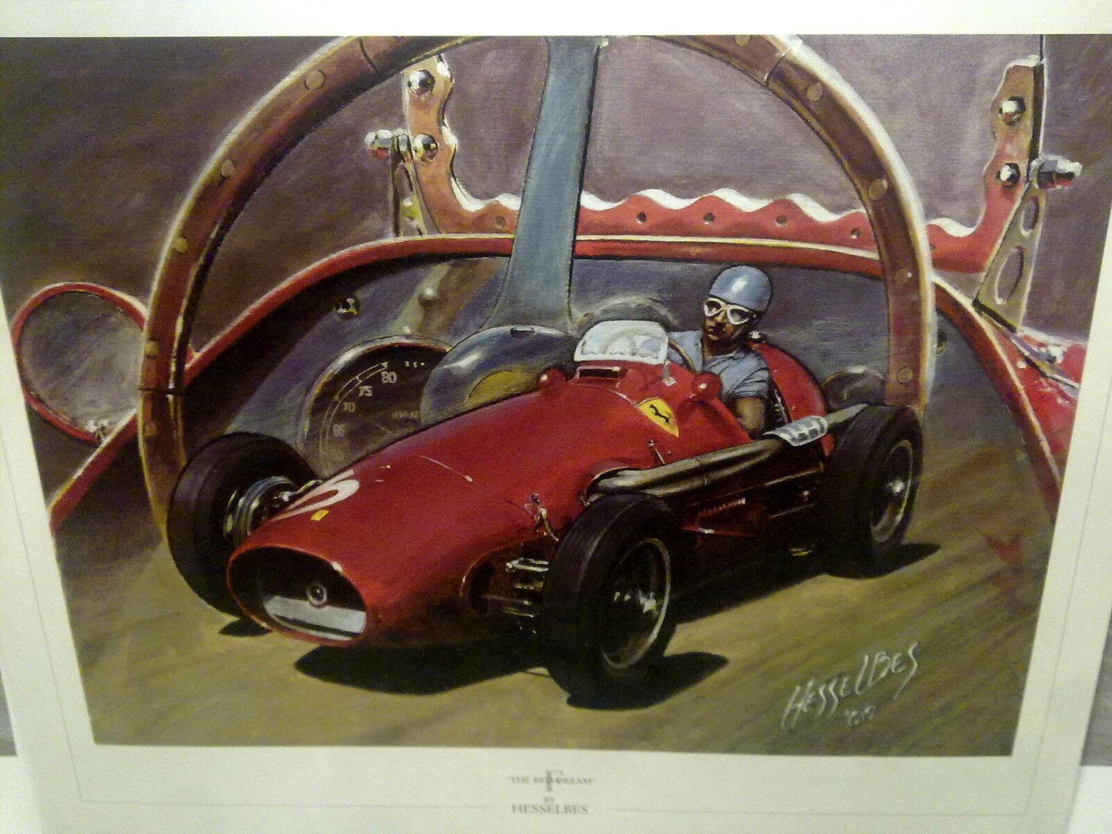 Ferrari 500 F2 (F1) 1952 Alberto Ascari by Hesselbes Hesselbes Hesselbes a9890a