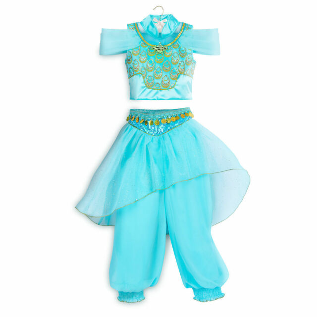 Jasmine Deluxe Womens Adult Aladdin Disney Princess Halloween Costume