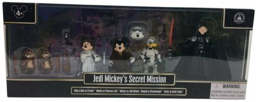 Jedi Mickey/'s Secret Mission Goofy Minnie Chip Dale Star Wars Weekends Disney