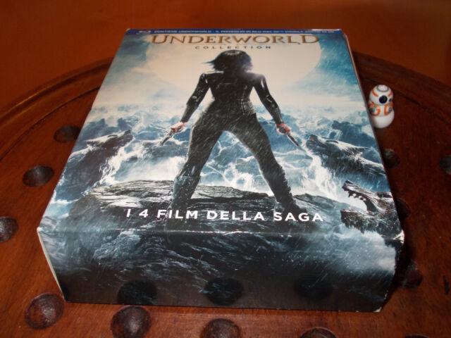 Underworld Collection (3 Blu-Ray+ 1 Blu Ray 3D)  Blu-Ray ..... Nuovo