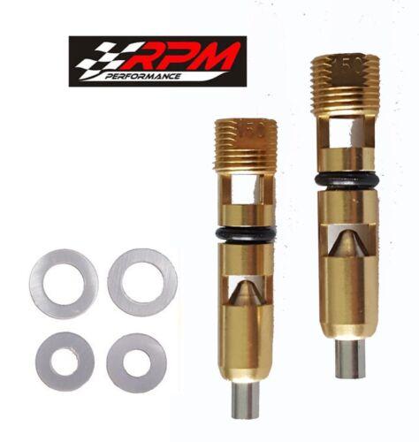 ".150/"" Needle /& Seat Steel Holley Carburetor Carb Gaskets Adjustable 6-519 A156X2"