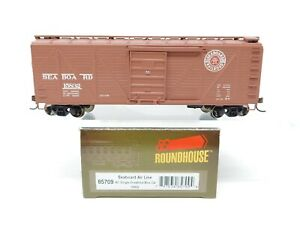 HO-Scale-Roundhouse-Athearn-85709-SAL-Seaboard-Air-Line-40-039-Box-Car-15832-RTR