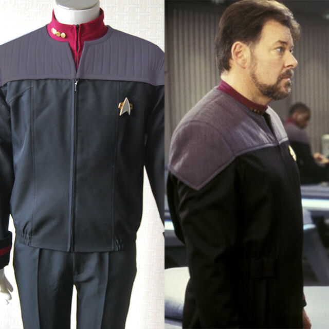 Star Trek Nemesis Duty Cosplay Costume Halloween Outfit Jacket Uniform Suit