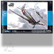 AZURE 1/72 MORANE-SAULNIER MS-406C.1 CZECHOSLOVAK & POLISH PILOTS *+RESIN-PE KIT