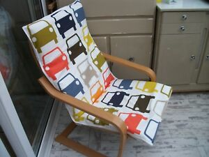 Incredible Details About Handmade Cover For Ikea Alme Poang Chair Stool Multi Car Pattern 1 Evergreenethics Interior Chair Design Evergreenethicsorg