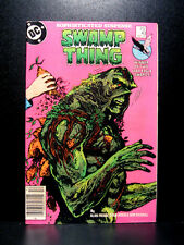 COMICS: DC: Saga of the Swamp Thing #43 (1980s) - RARE (batman/alan moore/flash)