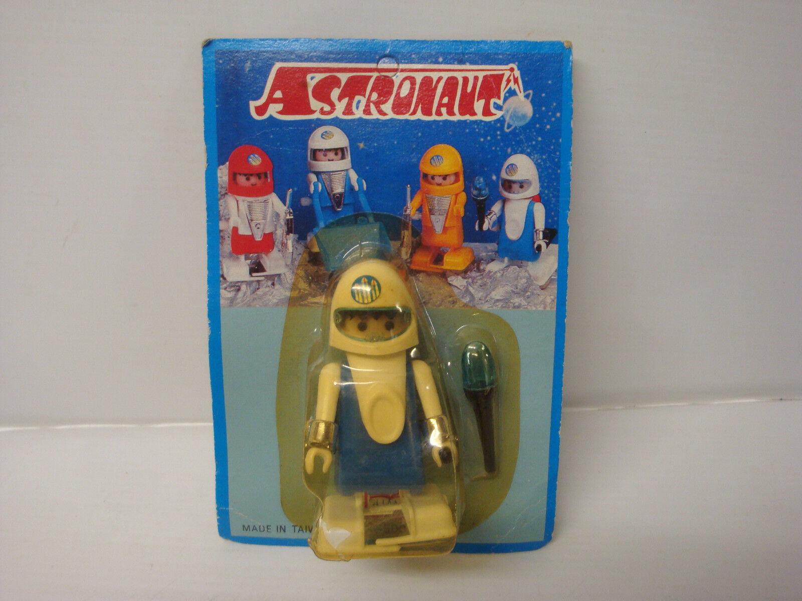 Personaggio espace astronauta Playmobil wind up nuovo in scatola - blu