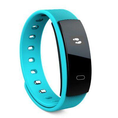 3D Fitness Blood Pressure Oxygen Heart Rate Monitor Smart Watch Band Bracelet