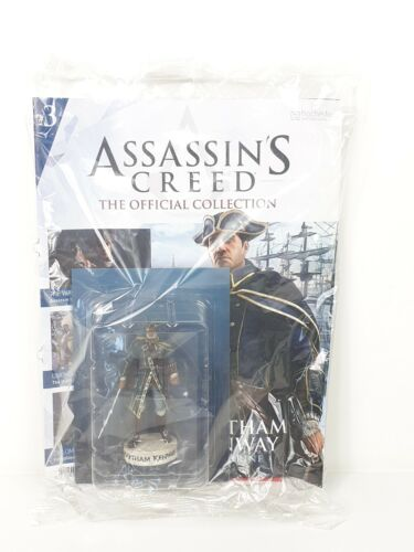 HAYTHAM KENWAY ASSASSIN/'S CREED HACHETTE COLLEZIONE UFFICIALE-Issue 03
