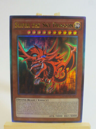 Slifer the Sky Dragon Anime Effect Ultra Rare Custom Orica