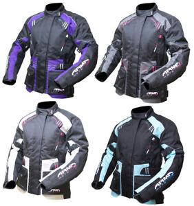 ARMR-Moto-KISO-2-femmes-textile-impermeable-renforce-Veste-de-moto