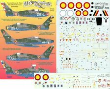 Daco Products 1:72  F-84 F Thunderstreak & Flash NATO Camouflage - Decal #D7232