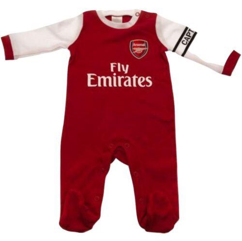 Arsenal FC Neu 2019 Baby Kinder Schlafanzug Afc Baby Spielen Babybody Strampler