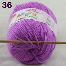Sale 1Skeinx50g DK Baby Cashmere Silk Wool Children hand knitting Crochet Yarn