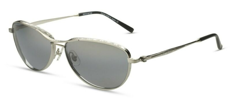 700$ Neu Matsuda M3031 3031 Gebürstet Silber Metal Aviator Sonnenbrille Im Japan