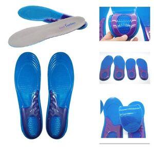 Botas De Trabajo Plantillas Gel Ortótico INSERTOS DE Zapatos almohadillas de soporte para el arco Pies Masaje