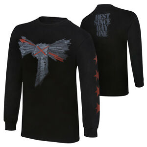 WWE-CM-PUNK-BEST-SINCE-DAY-ONE-LONG-SLEEVE-T-SHIRT-OFFICIAL-NEW