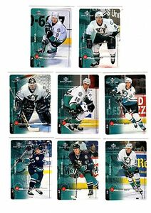 1X-ANAHEIM-DUCKS-1998-99-MVP-Upper-Deck-TEAM-SET-Bulk-Lot-Availab-SELANNE-KARIYA