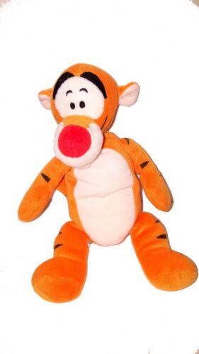 Disney orange TIGGER from Winnie the Pooh - 12 inch plush - Stuffed animal EUC