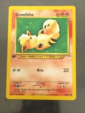 Growlithe 68 Neo Destiny Common Pokemon Card Near Mint