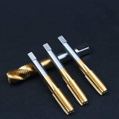 M6 HSS Tap Screw Thread Threading Tapping Pot Plug Straight Flute Pin Bit Tool