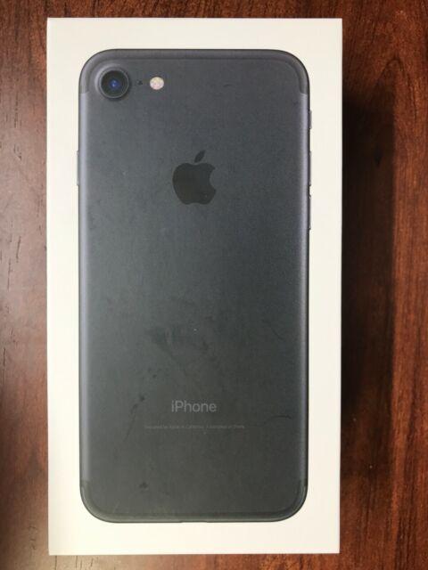 Apple iPhone 7 Unlocked (GSM + CDMA) 32GB - Black (Model A1660, Brand New)