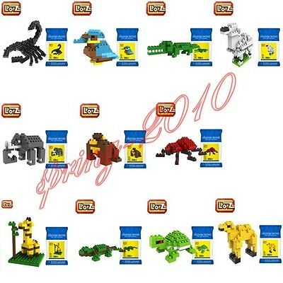 LOZ Toy Diamond Mini Nano Micro Building Blocks Animals Giraffe Series Kids Gift