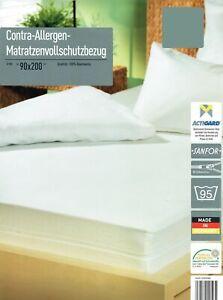 Contra-Allergen-Schutzbezug-Matratzenvollschutzbezug-Milbenschutz-Allergiker