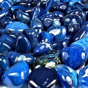 250-g-Achat-blau-Trommelsteine-20-35-mm-AA-Qualitaet-Brasilien-Groesse-L
