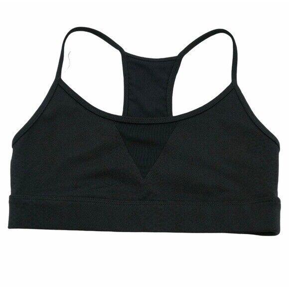 KORAL Black Snakeskin Trifecta Sports Bra Size Small? Athleisure Workout