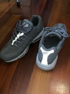 Details about NIKE AIR MAX '95 DARK GREYWOLF GREY BLACK SIZE MEN'S 8.5 [609048 088] NMINT