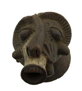 Mascara-Africana-Pasaporte-Africana-de-Barro-Bender-Arte-Primera-Af-1147-B2B