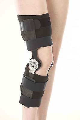 ZCARE  ROM Knee Brace support - Orthopedic Hinged ROM Sports Flexion Extension