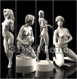 4-3D-STL-Models-Nude-Womans-for-CNC-Router-Carving-Machine-Artcam-aspire