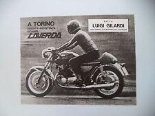 advertising Pubblicità 1971 MOTO LAVERDA 750 SF
