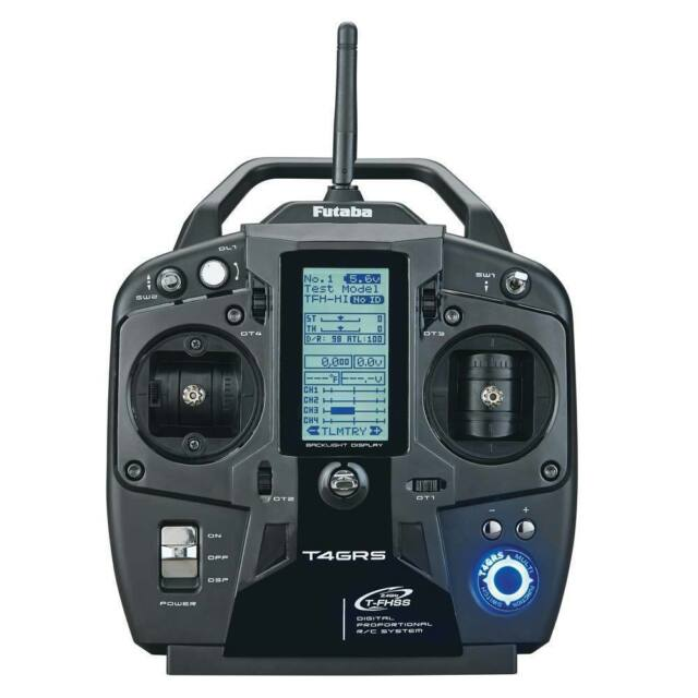 BRAND NEW FUTABA 4GRS 4 CHANNEL T-FHSS TFHSS TELEMETRY RADIO SYSTEM FUTK4220 !!