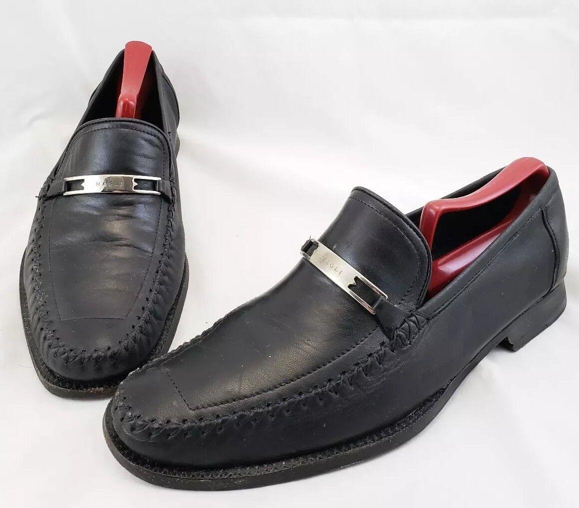 n ° 1 online Vintage Bruno Magli Bennett Uomo nero Dress Loafer Dimensione Dimensione Dimensione 9M Slip Ons   fornire un prodotto di qualità
