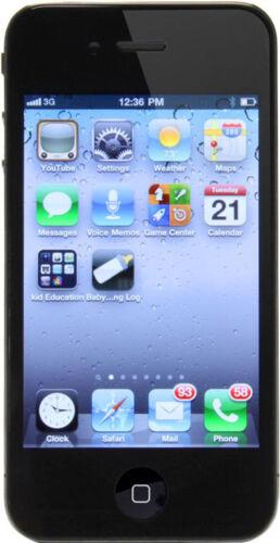 1 of 1 - Apple iPhone 4 - 16GB - Black (AT&T) Smartphone (MC608LL/A)