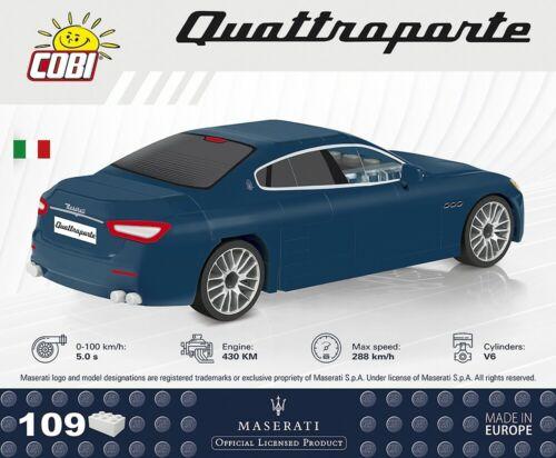 1:35 Cobi Maserati Quattroporte Blau #24563