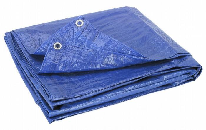 Tarpaulin Heavy Duty Waterproof Strong bluee Cover Ground Sheet Tarp [75GSM 8x10m