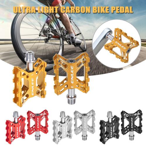 Folding Bike Pedals Aluminium Alloy Mountain Bicycle Cycling Flat Platform Pedal
