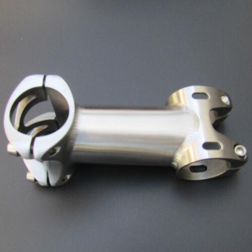 0-20° Titanium Bicycle Stem Ti Stem Handlebar Stem 28.6*25.4 Length:50-120mm