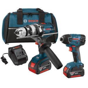 Bosch-18V-Li-Ion-Hammer-Drill-Impact-Driver-Combo-CLPK222-181-Reconditioned